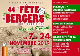 Programme détaillé fête des Bergers 2019
