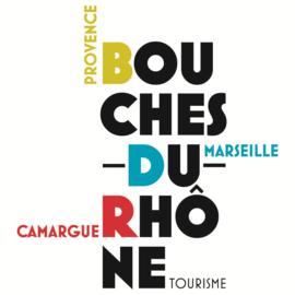 Carte Touristique Bouches-du-Rhône Tourisme