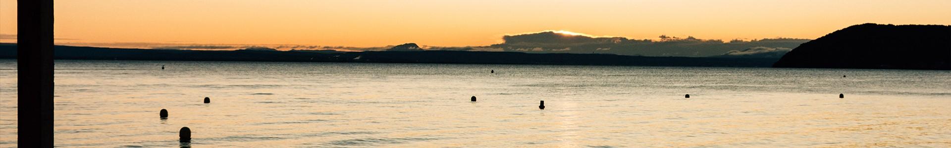 La Plage du ranquet à Istres sur l'étang de Berre