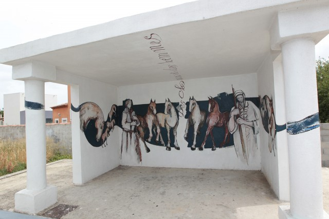 Art in the town