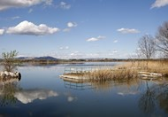 Entressen et son étang