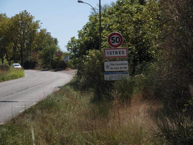 Venir à Istres