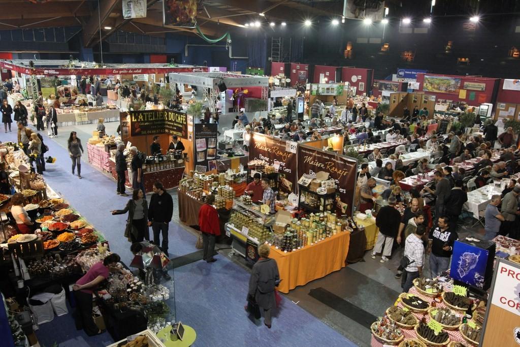 Ville festive for Salon des vins et de la gastronomie