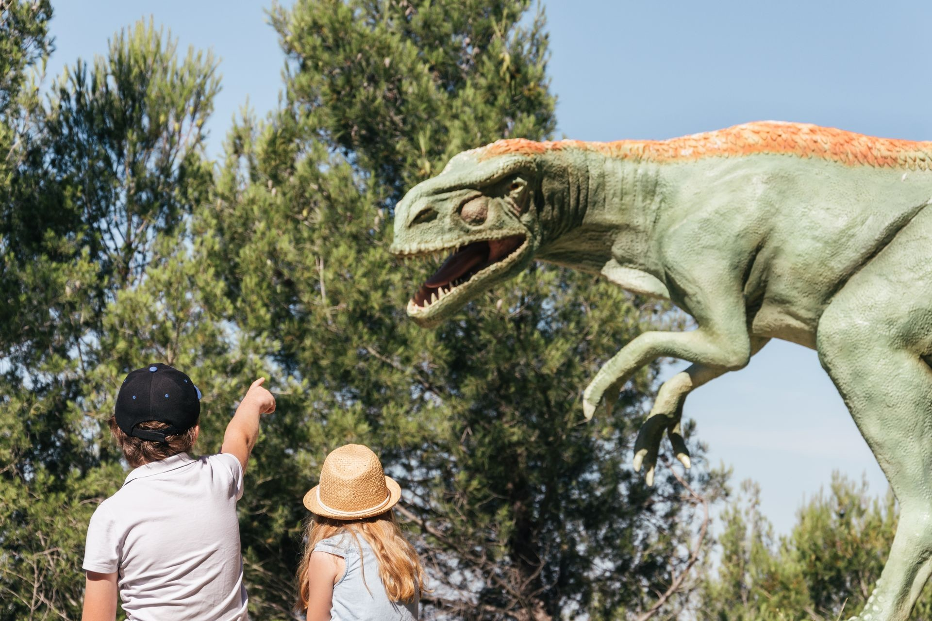 Dinosaur'istres, parc dinosaures à Istres