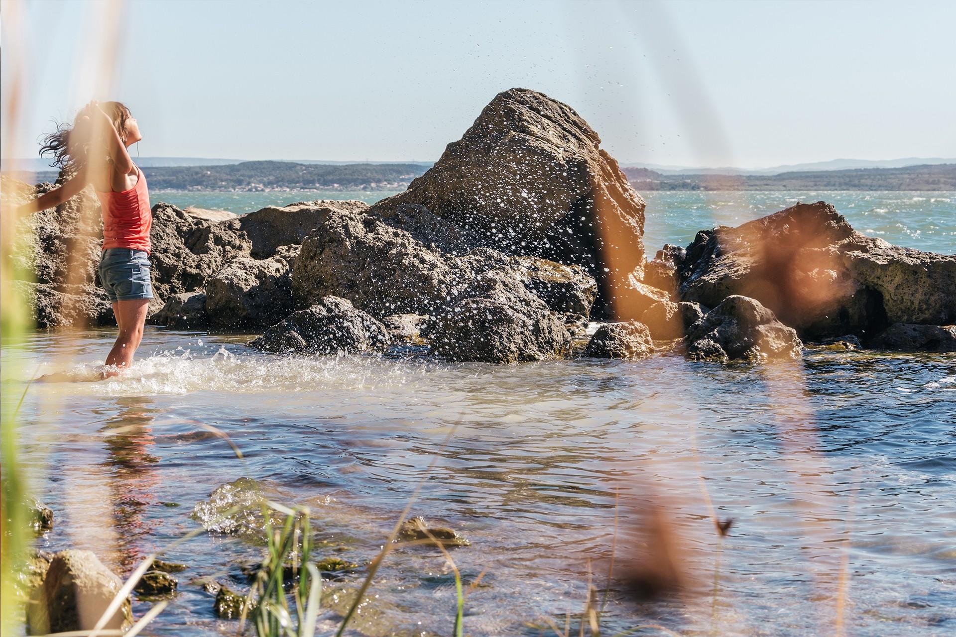 Envie de Fraîcheur à Istres - étang de Berre