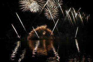Feu d'artifice des fêtes d'Istres