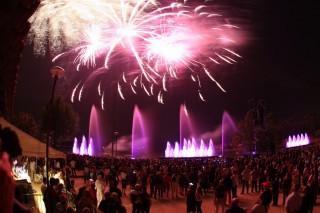 Feu d'artifice des fêtes d'Istres en août