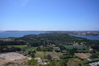 Istres, entre deux étangs : étang de Berre et étang de l'olivier