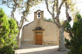 La Chapelle d'Entressen, au nord de la ville