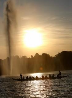 La fête de l'eau fin juin