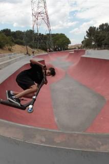 Un skateparc de haute qualité à Istres dans le parc Marcel Guelfucci