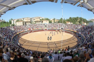 Les arènes du Palio Feria Istres