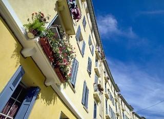 Les HBM, quartier emblématique de la ville d'Istres