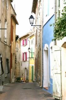 Les ruelles du centre historiques d'Istres