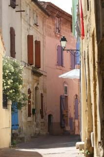 Les ruelles du centre historique d'Istres