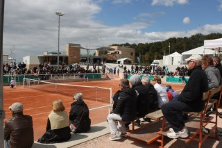 Open de Tennis à la plaine de sports Davini