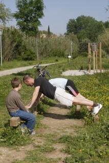 Parcours de santé du tour de l'étang l'Olivier