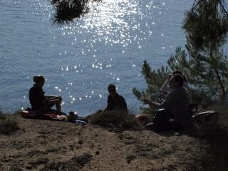 détente étang de Berre