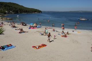 La plage du Ranquet d'Istres