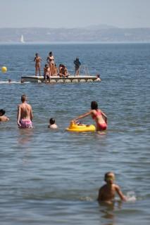 Baignade à Plage de la Romaniquette à Istres