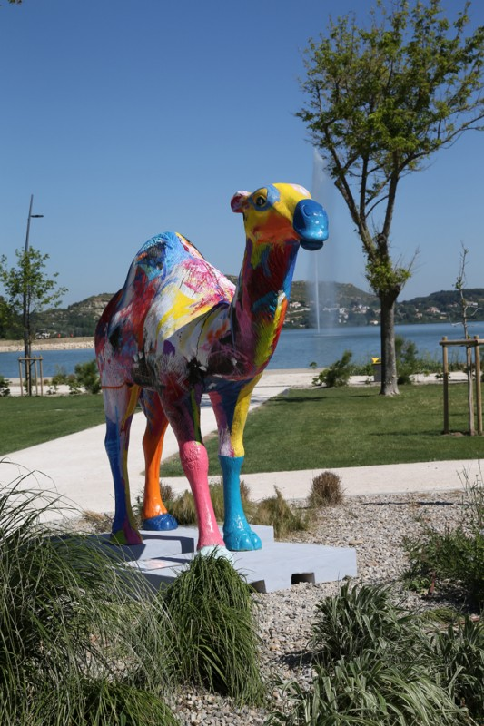 Art Zoo Istres - Istres - Parc de l'Olivier - étang