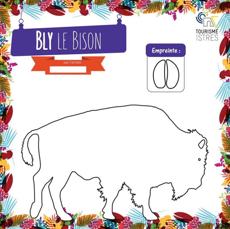 Coloriage Bly le Bison