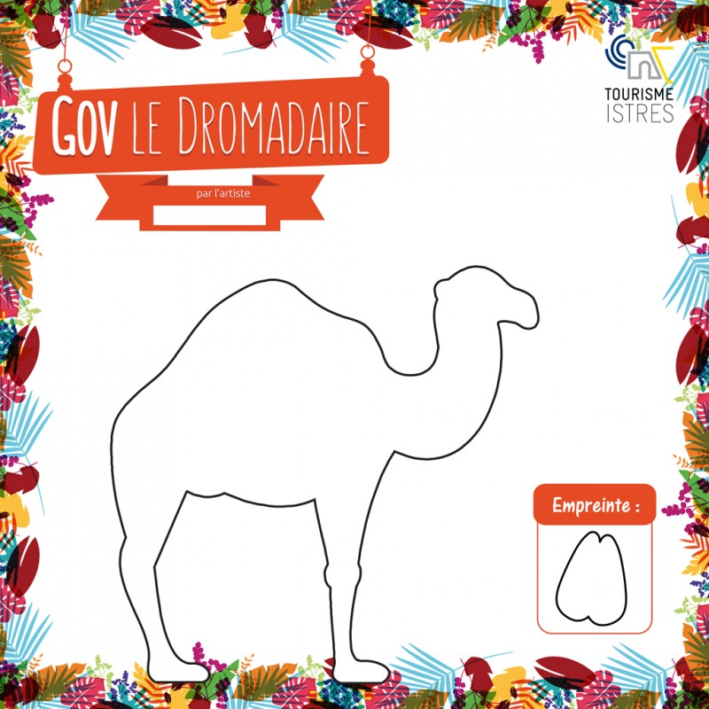 Coloriage Gov le Dromadaire