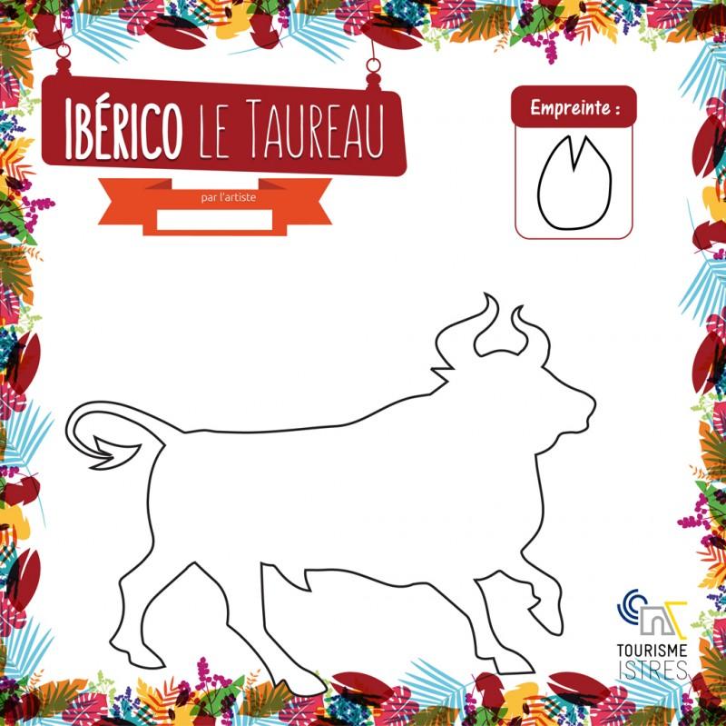 Coloriage Ibérico le Taureau
