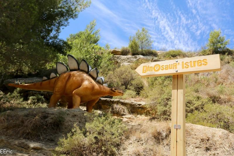 Dinosaur'Istres Panneau
