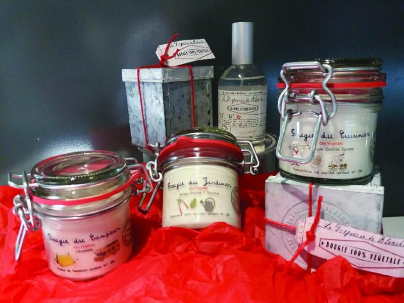 Huiles et bougies parfumées