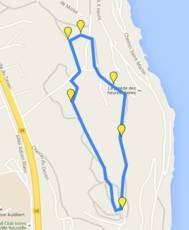 Exercices physiques sur le parcours sportif du Deven à Istres