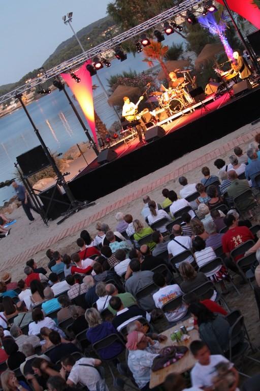 Jazz sur la plage du Ranquet à Istres