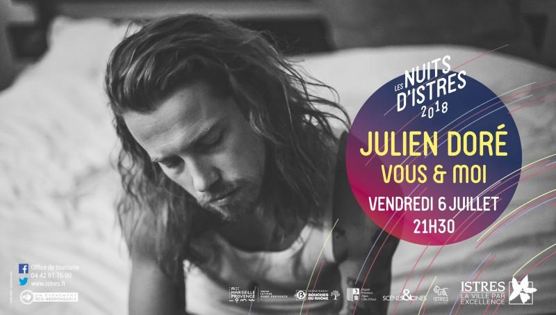 Julien Doré Nuits d'Istres 2018 6 juillet