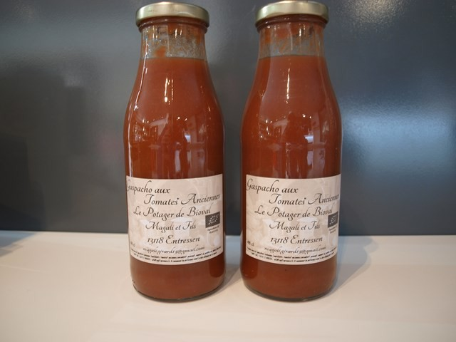 Jus de tomate de chez Bioval