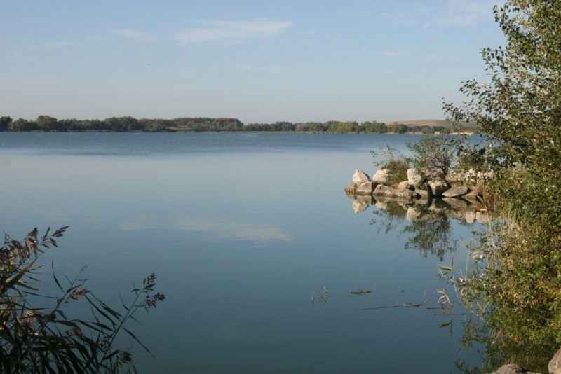 L'étang d'Entressen à Istres