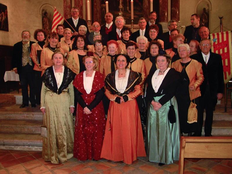 La chorale provençale Istres