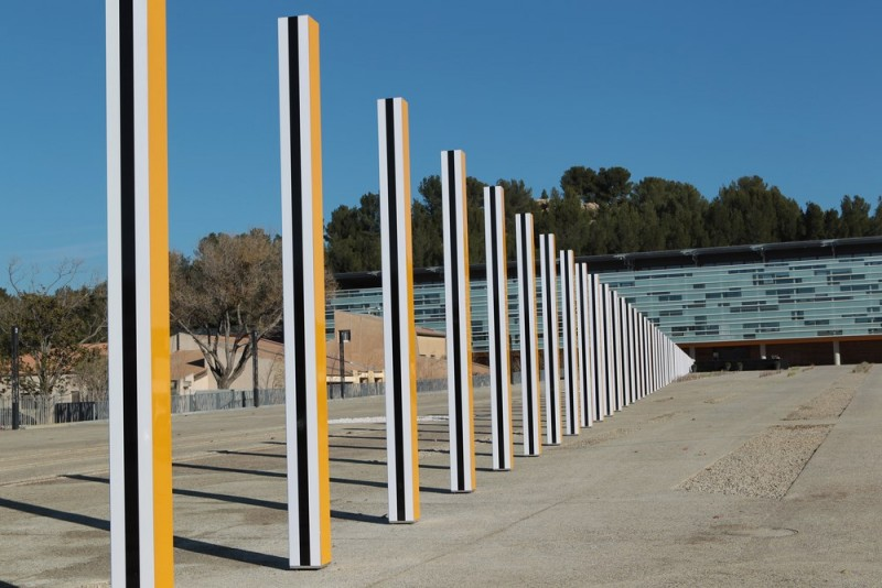 La Grande Diagonale - Daniel Buren
