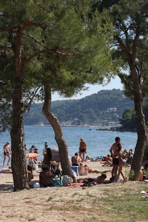 La plage de la Romaniquette