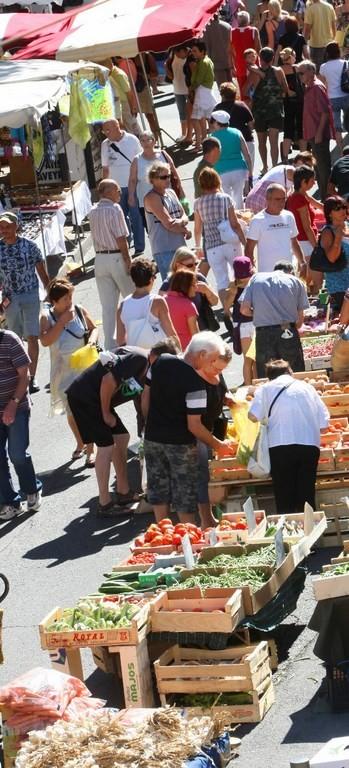 Le marché d'Istres