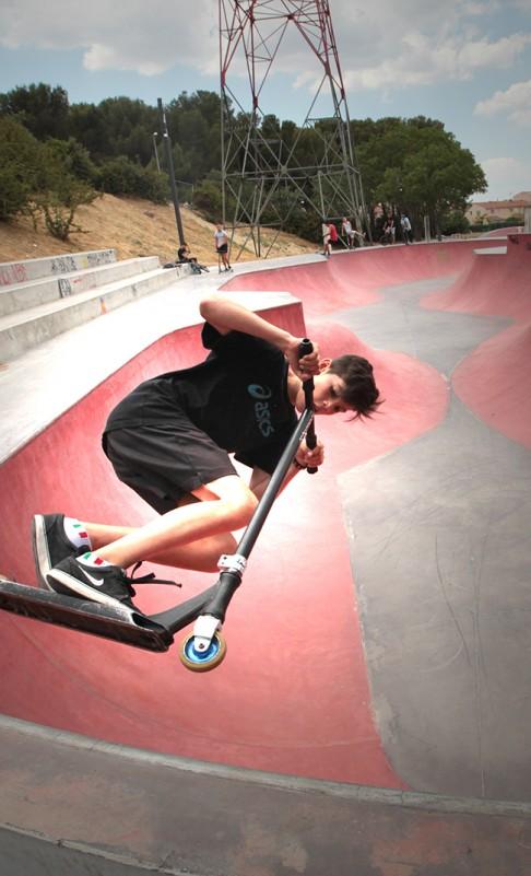 Le Skate Park du Parc Marcel Guelfucci