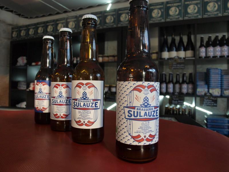 Les bières de Sulauze
