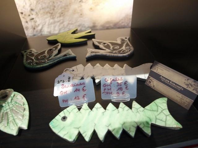 Les décorations de l'atelier Karameia