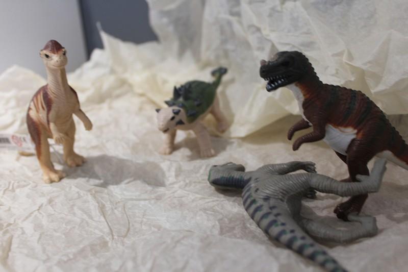 Les figurines Dinosaures