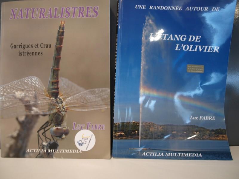 Livres : Natural'Istres et L'étang de l'Olivier