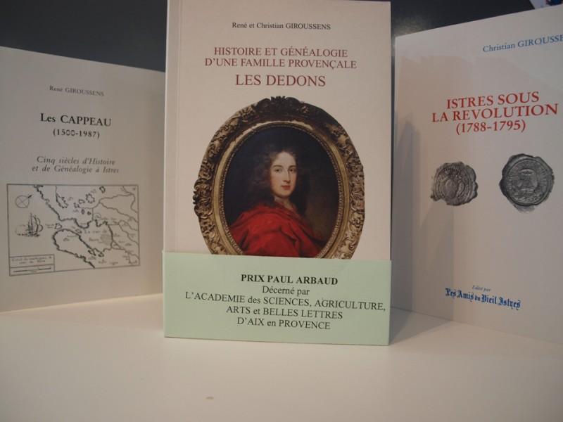 Livres sur l'histoire d'Istres