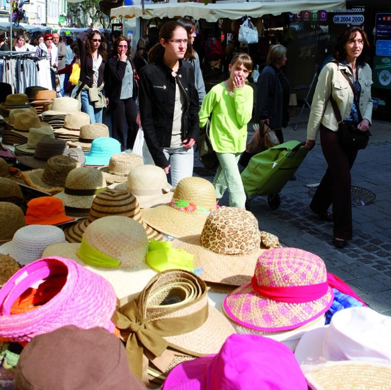 Le marché provençal d'Istres