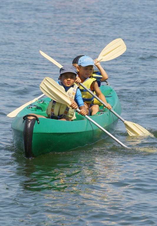 Nautisme sur l'étang de Berre à Istres