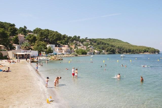Plage du Ranquet à Istres