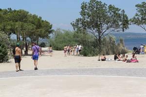 Plage de la Romaniquette à Istres