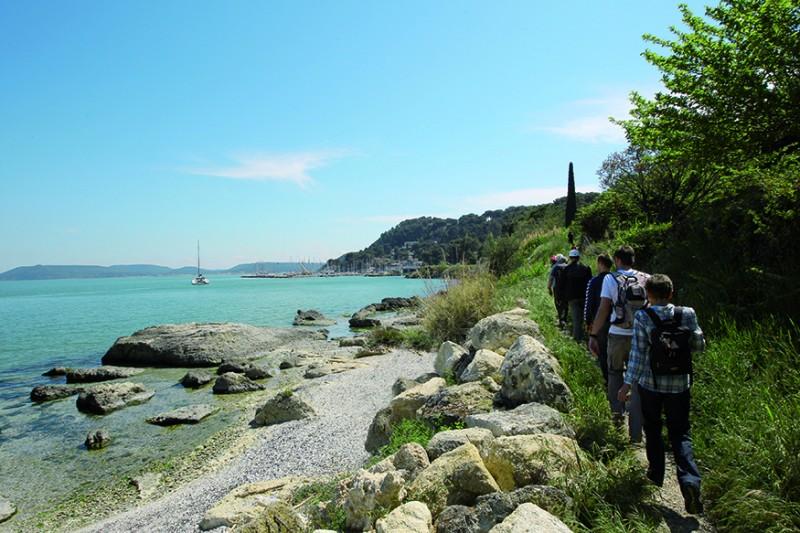 randonnée Istres entre ville et nature